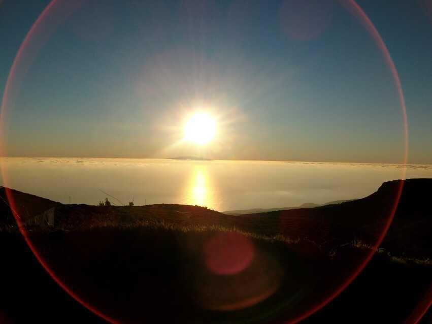 Endstation Sehnsucht. Sonnenuntergang in Igualero