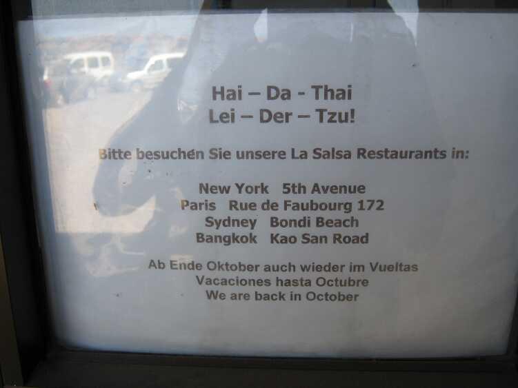 """Das La Salsa hat eine """"längere Pause"""""""