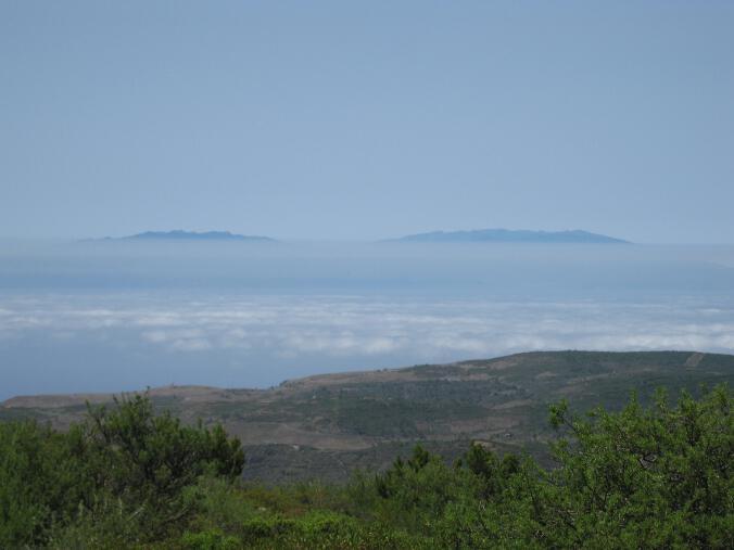 La Palma von der Fortaleza aus gesehen