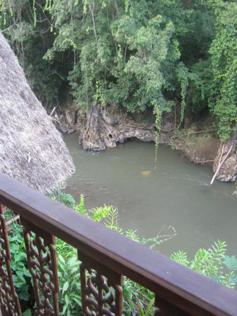 Soppong River Inn Balkon