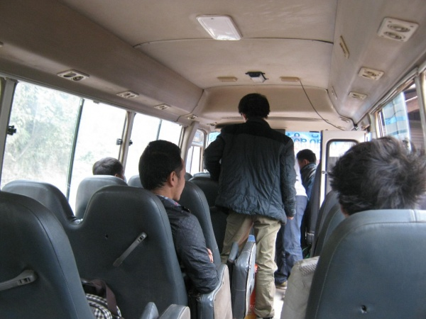 Auf dem Weg nach Oudomxai