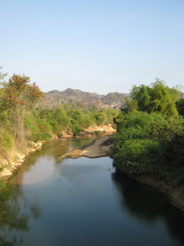 Thakhek die Karstberge