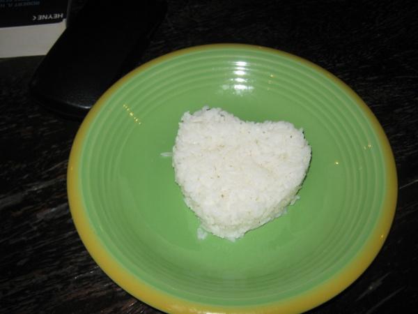 Trat liebevoller Reis